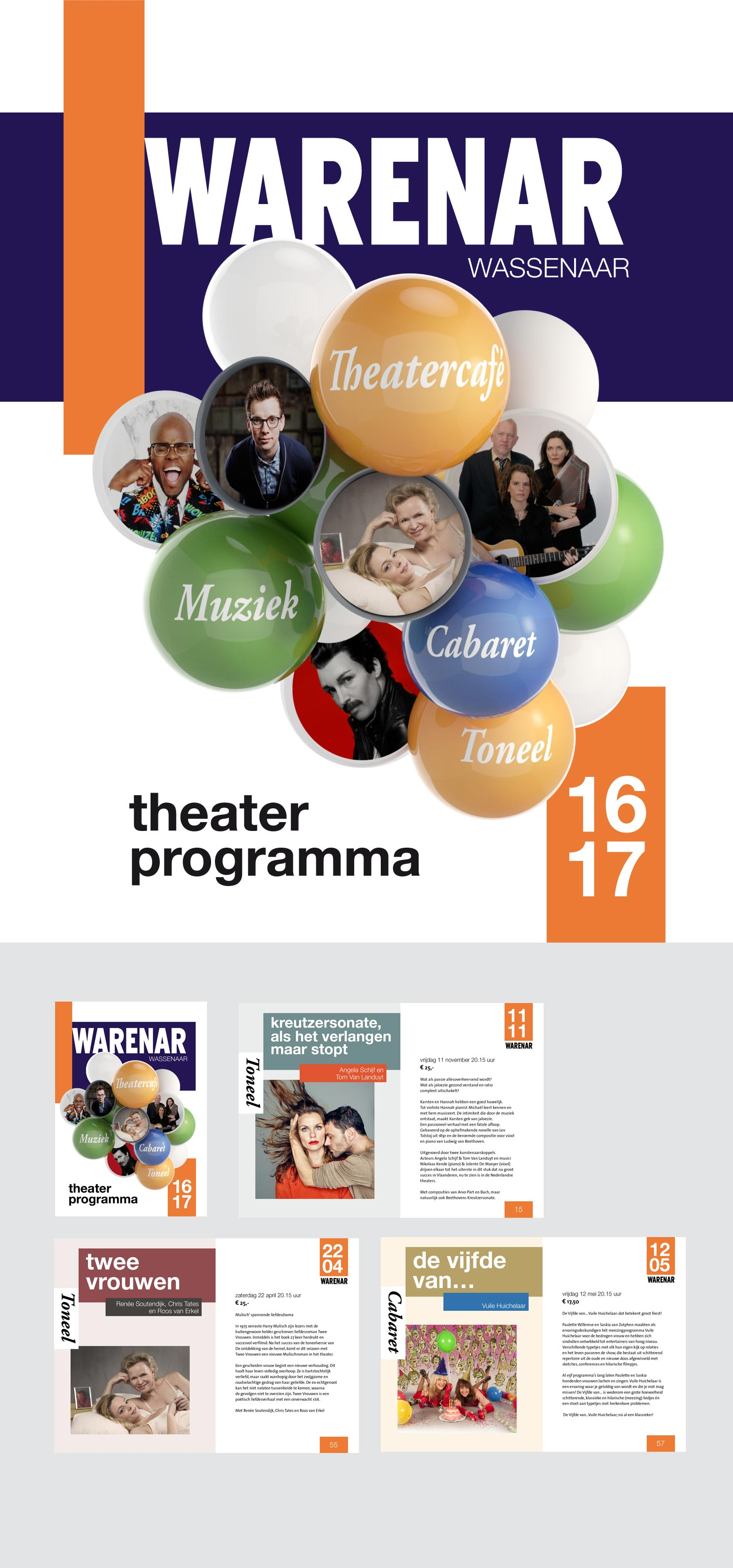 Theater programma Warenar